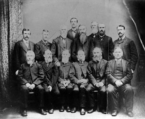 Elders of Butler Center Methodist Episcopal Church, 1885