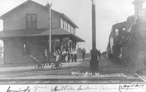 Oswego County Today >> Wayne County NY Antique Railroad Postcards