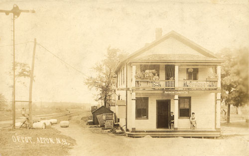 Wayne County Ny Antique Railroad Postcards
