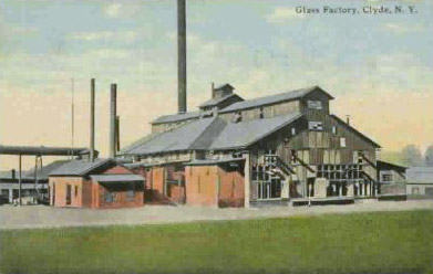 Glass Factory, Clyde, N.Y.